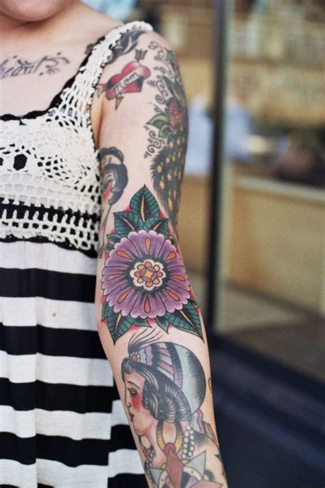 tattoo in arm ditch nothing is more beautiful than a beautiful flower tattoo