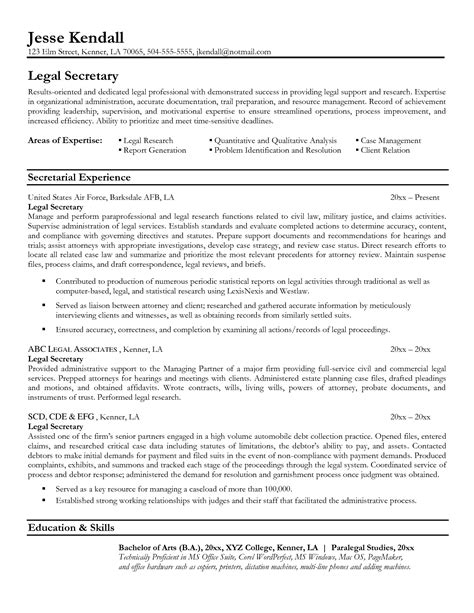 job resume 54 secretary resume fresh template