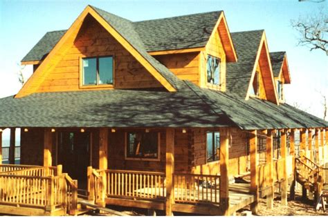 exterior log home cabin pictures battle creek log homes