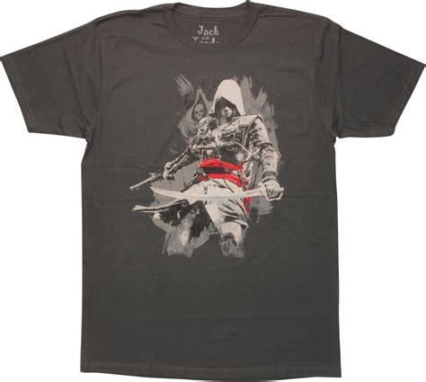 Tshirt Assassins Creed assassins creed edward kenway t shirt sheer