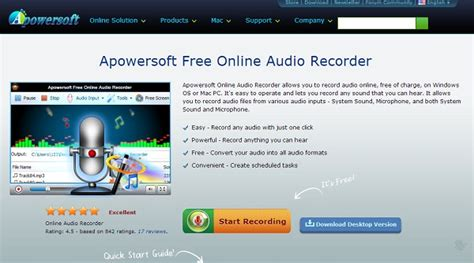 best audio format java top 10 online audio recorder easily record audio with