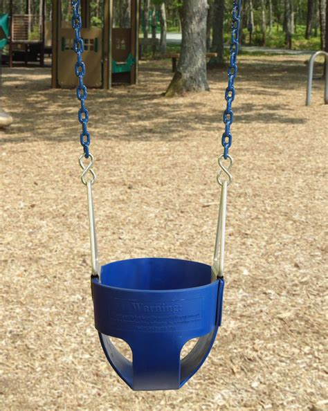 bucket swing with chain commercial full bucket swing with coated chain