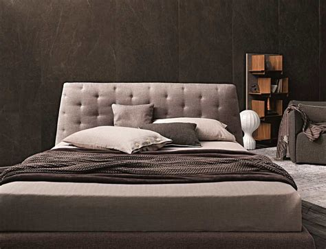 taupe new danco bed with audio system contemporary bedroom modern taupe gray fabric bed nj082 contemporary bedroom