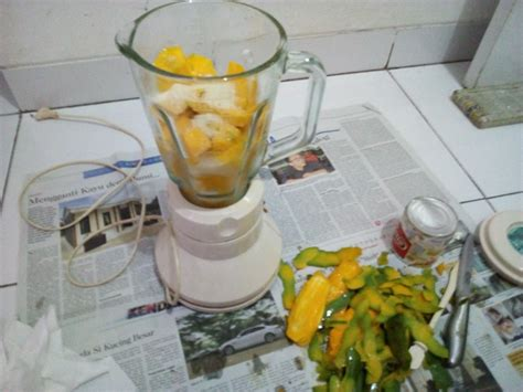 cara membuat jus mangga di rumah pengalaman bikin jus mangga paling enak kental wangi