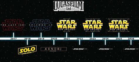 watch new star wars movie name and release date updated future star wars movie timeline starwars