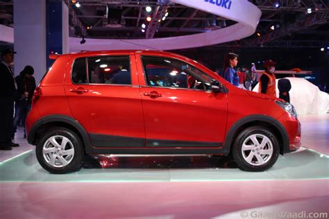 Maruthi Suzuki Celerio Maruti Suzuki Celerio Cross Debuts At The 2016 Delhi Auto