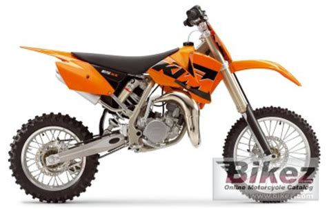 2005 Ktm 85 Sx Specs 2005 Ktm 85 Sx 17 14 Specifications And Pictures