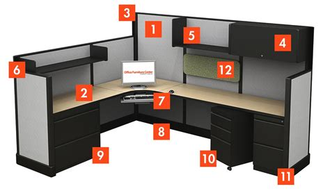 100 layout of office furnishings an office