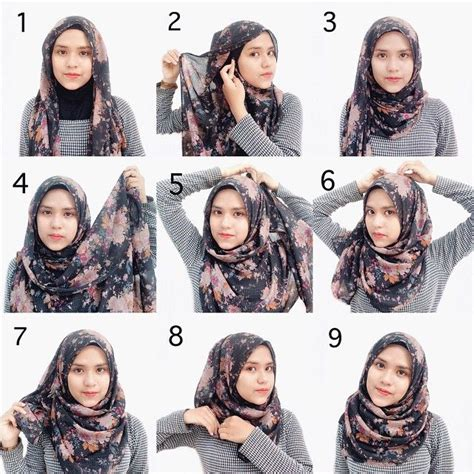 tutorial hijab segi empat 2 lapis are you a fan of simplicity and of course beauty look no