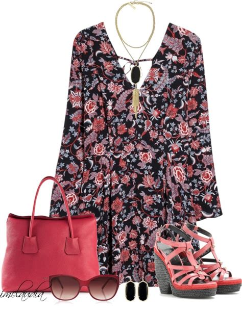 32 polyvore casual dress for spring and summer