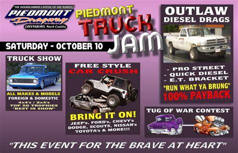 truck jam greensboro 10 10 09 piedmont truck jam greensboro nc
