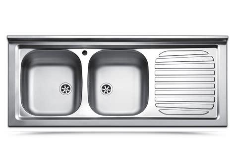 lavello da appoggio cucina lavello da appoggio doppia vasca con scolapiatti a destra