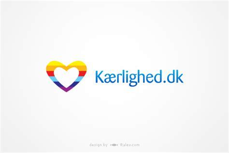 logo design dk kaerlighed dk logo design ralev logo brand design