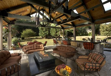 Kitchen Remodling Ideas large covered outdoor living space remodel mcadams