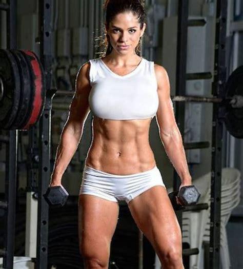 Imagenes Mujeres Gym | 40 chicas lindas de cuerpos perfectos levantando pesas en