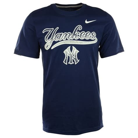 T Shirt Nike Gain Zero X Store 1 nike mens shortsleeve new york yankees tshirt in blue for navy lyst