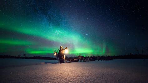 where are the best lights caccia all boreale visitfinland