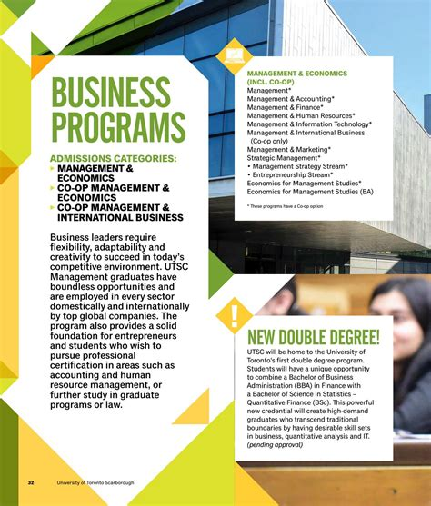 Http Www Uhv Edu Business Graduate Programs Strategic Mba Concentration Courses by U Of T Scarborough Viewbook 2018 19 By Utsc Admissions