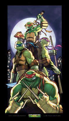 Kaos Slash Illustration Nm4hn mutant turtles michele frigo mutant turtles