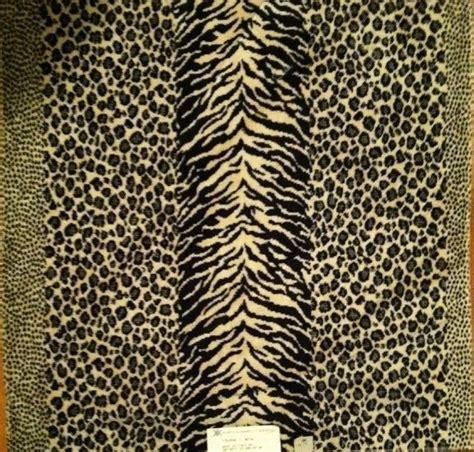 Animal Print Velvet Upholstery Fabric by Kravet Couture Animal Print Velvet Fabric Black