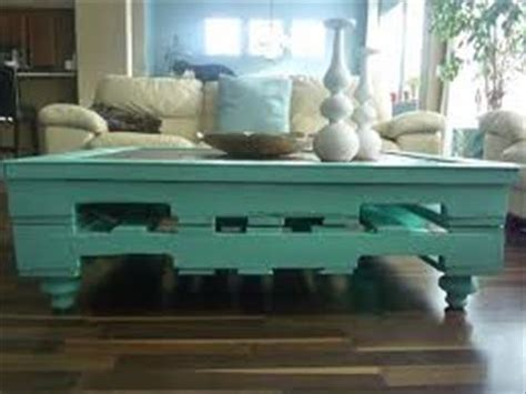 Painted Pallet Coffee Table Diy Pallet Painted Coffee Table Pallets Designs