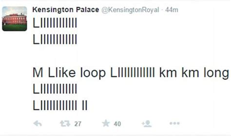 kensington palace twitter did cheeky prince george send out garbled tweet from royal