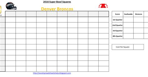 Office Football Pools by Excel Spreadsheets Help Bowl Squares 2016 Excel