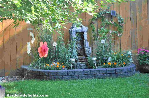 garden delightsbackyard garden decor water fountains
