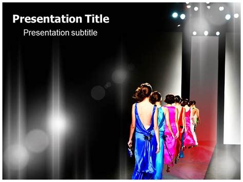Fashion Show Powerpoint Presentation Templates Free Fashion Powerpoint Templates All About Show Powerpoint Template Free