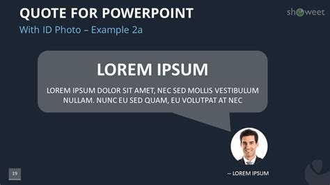 Powerpoint Templates For Quotes Showeet Com Quote Presentation Templates