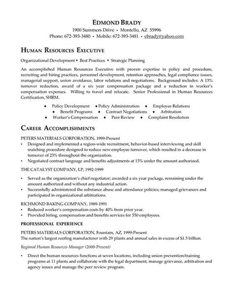 Hr Admin Assistant Sle Resume by 1000 Ideas About Executive Resume On Resume Tips Resume And Resume Writing