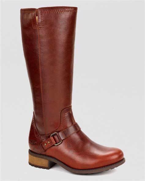 ugg ugg 174 australia boots dahlen in brown lyst