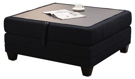 coaster storage ottoman coaster keaton storage ottoman with reversible top