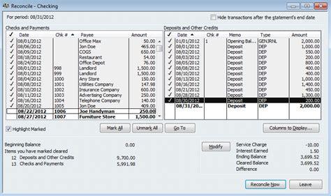 quickbooks tutorial bank reconciliation part accounting basics part 5 quickbooks bank reconciliation