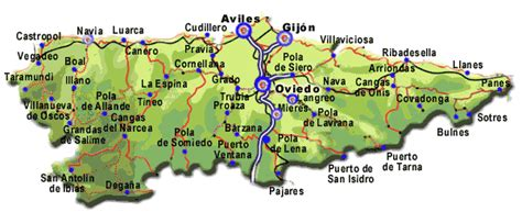 asturias mapa de carreteras 8499355900 mapa de carreteras de asturias tama 241 o completo