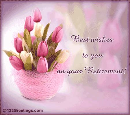 best wishes on retirement! free retirement ecards