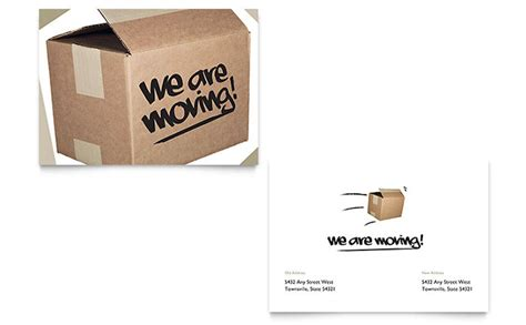 templates for office announcements we re moving announcement template design