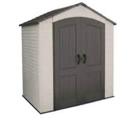 Outdoor Storage Buildings Lifetime Plastic Sheds 60057 Storage Shed 7 X 4 5