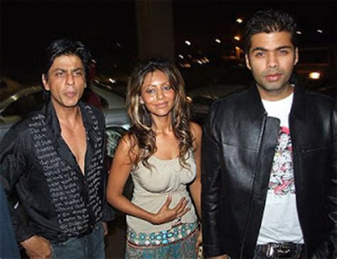 Usp Stand For by Showbizz Karan Johar Admits Shahrukh S Wife Is Like His
