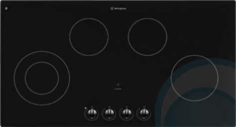 Westinghouse Cooktop westinghouse electric cooktop phr395u appliances
