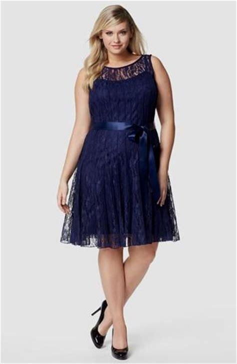 I Big Size Navy plus size navy blue lace dress naf dresses