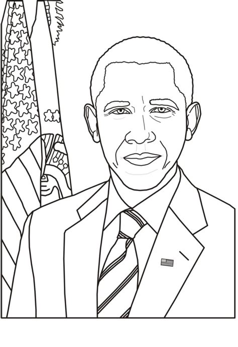 printable pictures presidents barack obama coloring pages best coloring pages for kids