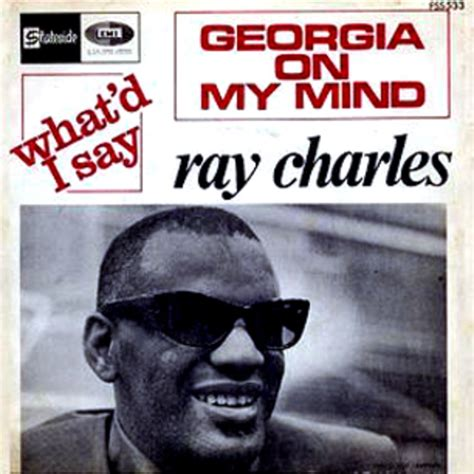 ray charles georgia   mind  greatest songs