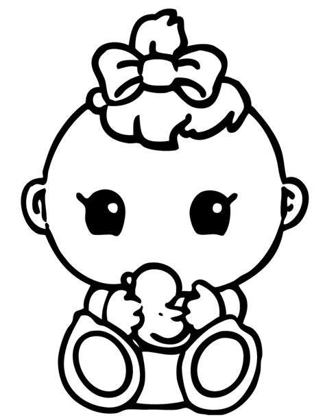 coloring pages baby free printable baby shower coloring pages coloring home