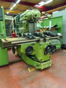 used machine tool milling machine huron mu6 second machines tools for
