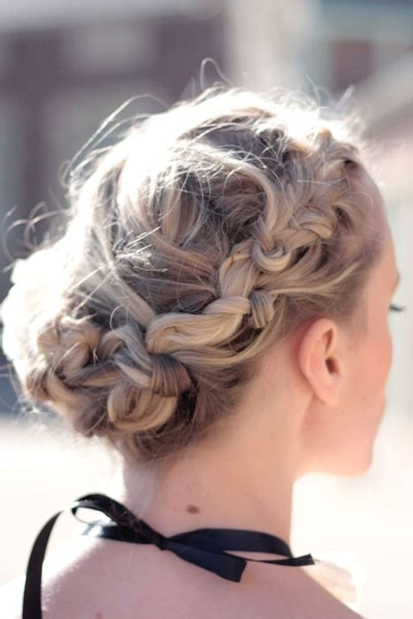 updo hairstyles knotted braid 149 best images about hair styles braided updos on