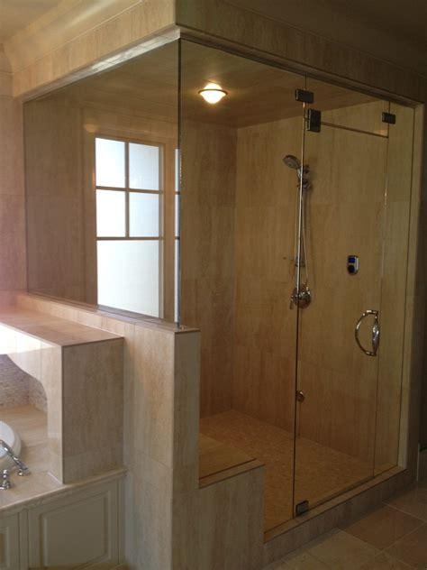 Steam Clean Shower Doors Frameless Shower Doors House Of Mirrors Glass