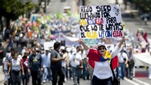 imagenes protestas venezuela oposici 243 n venezolana convoca protesta contra el hambre