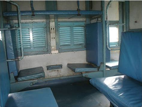 Sleeper Class Seating by More Facilities For General Sleeper Class Passengers