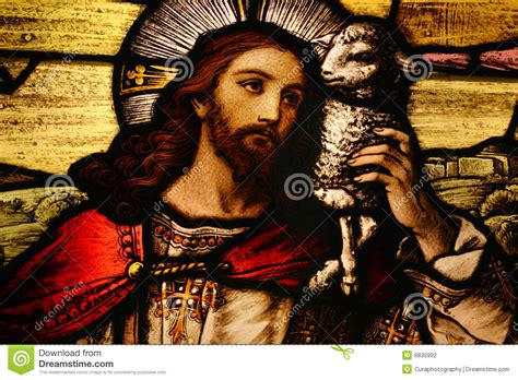 image of christ jesus with lamb stock photography image 6830992